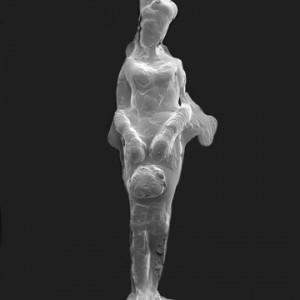 """Seedling Angel no.1"", 2008, ca. 140x80cm, REM/Print, 2+1 AP"
