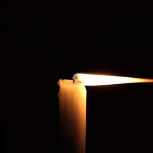 """""""study of a candle"""", 2014, Full HD Video (loop), color, no sound, Limited Edition of 300"""
