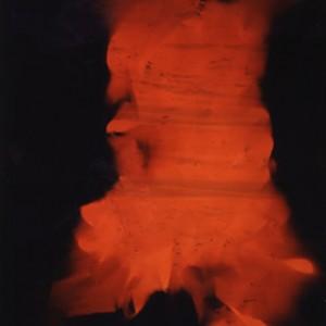 """jump I / into the void"", 2003, 170x106cm, Colorphotogram, unique"