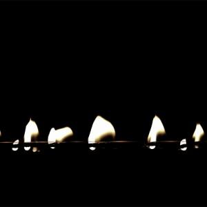 """study of a flame I"", 2014, Full HD Video (loop), color, no sound, 8+2 AP"