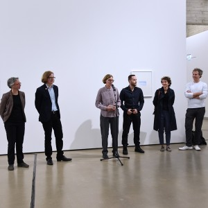 """""""Supercopy Worldcopy"""" exhibition view at PORT25 Mannheim. Installation view of """"A 1000 Rainbows"""", 2015, Full HD loop, 8 min."""
