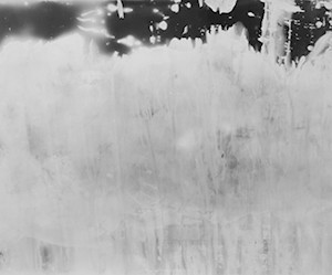"""""""WOS no.1/ the water on my body"""", 2012, ca. 106x200cm, BW Photogram, unique"""
