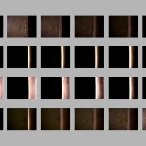 """The door"", 2002, 8 sec., loop, PAL Video, no sound"