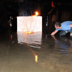 """Documentation of the """"under water bomb"""" seria action, 2012"""