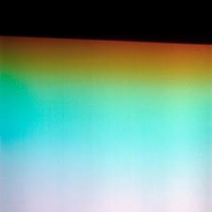 """Atmozons & Horizspheres no.5″, 2015, ca. 100x80cm, photogram/luminogram on colorfilm/C-Print analog, 2+1 AP"
